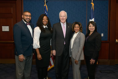 School Counselor Celebrated in Washington D.C.