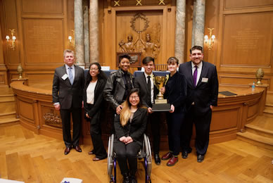 High school students show off debate skills at Mayor's Cup
