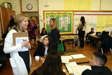 Education leaders get first-hand look at successful ACE program