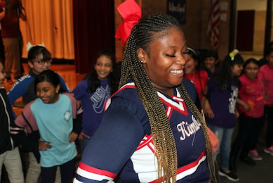 Kimball students inspire nine elementary schools to ace the STAAR test