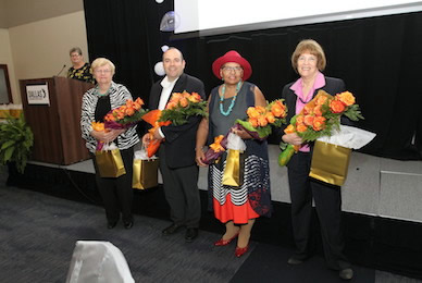 Recognizing 50 years of service from volunteers and partners