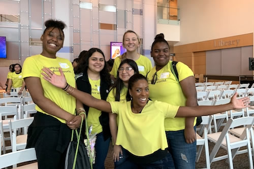 "Female students learned to embrace their ""best selves"" at a conference at UNT Dallas"