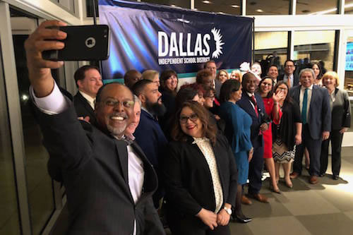 Dallas ISD is celebrating and recognizing its group of 22 top-performing campus leaders