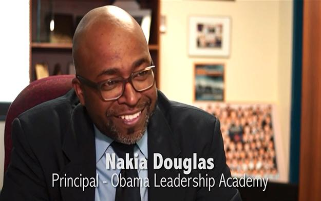 More about Mr. Douglas, Principal of the Year.