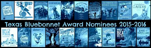 Texas Bluebonnet Award Nominees