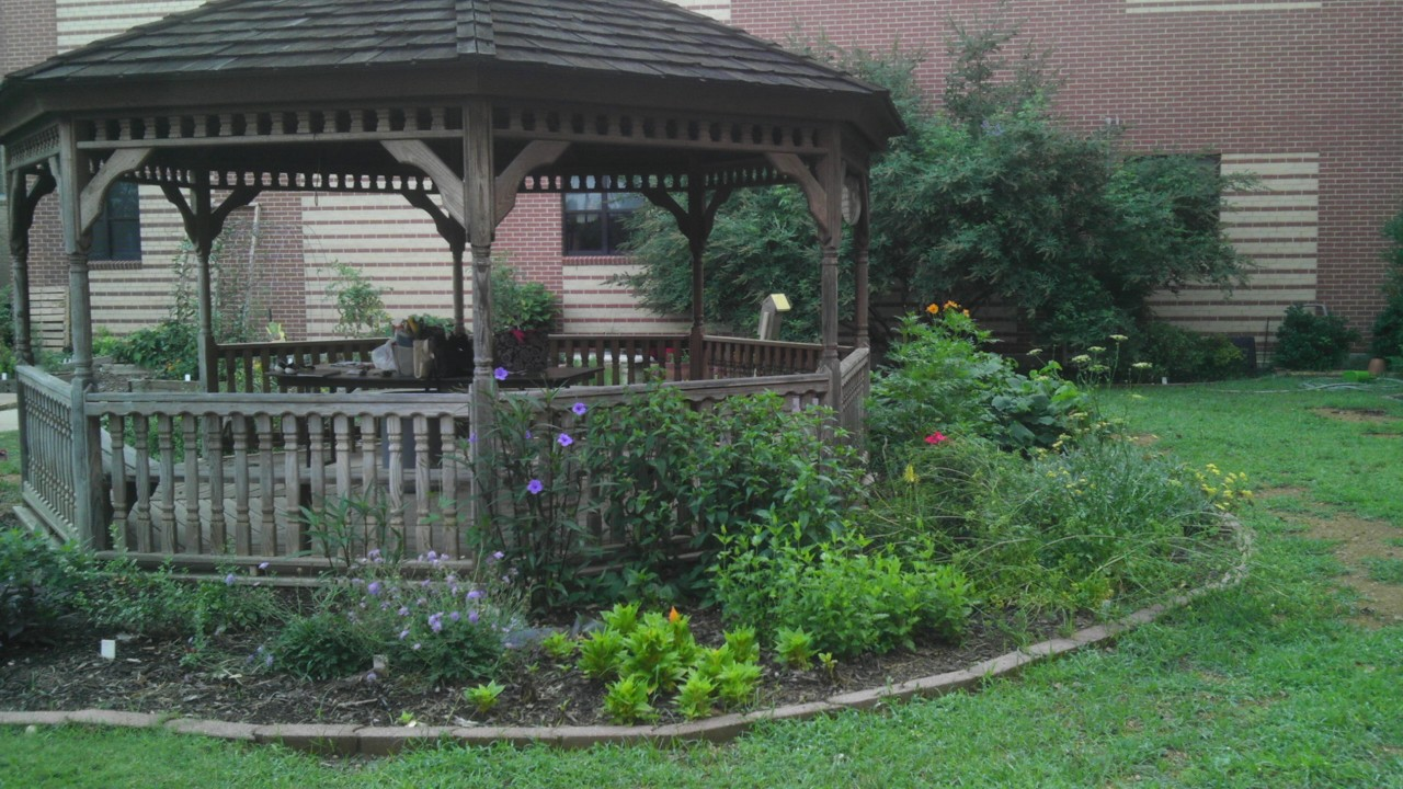 Gazebo and Butterfly Garden