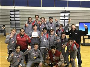 Woodrow Wilson Boys / Samuell Girls Capture District 7-5A Wrestling Championships