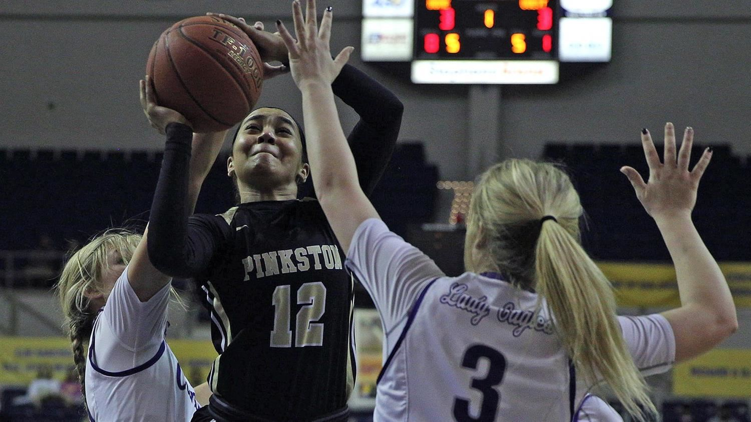 Pinkston Girls Basketball Falls to #2 Canyon in the UIL 4A State Semi-Final.