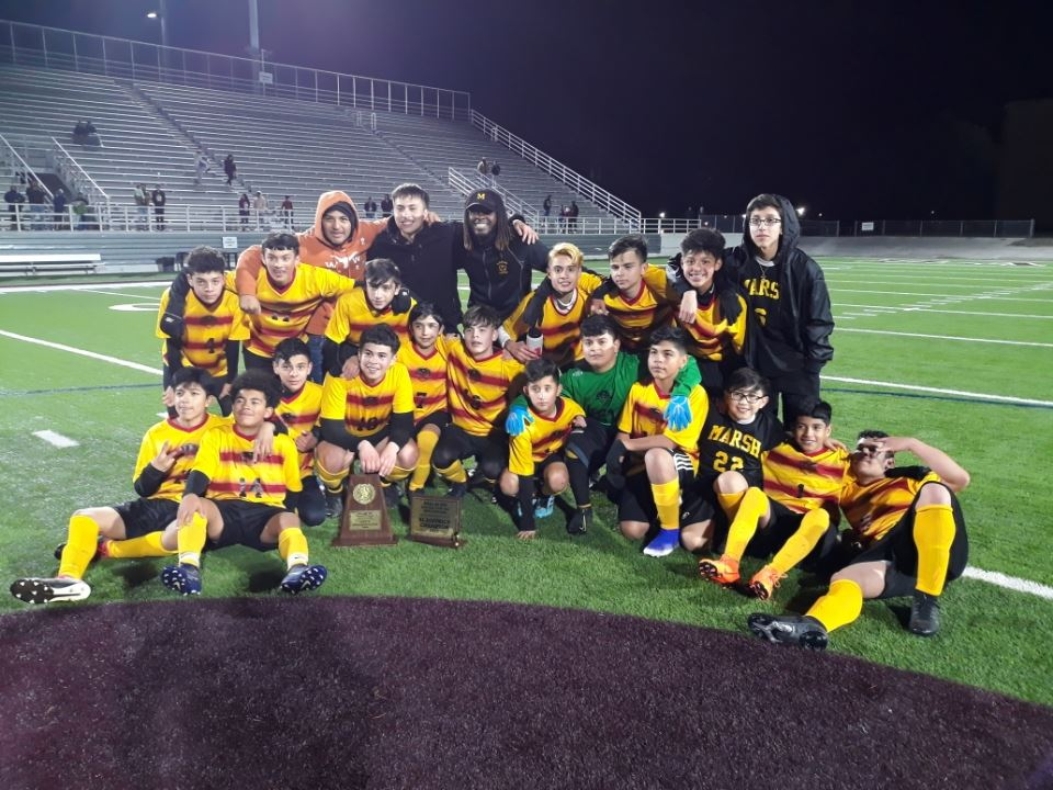 Marsh Boys / Greiner Girls Crowned Middle School City Soccer Champions