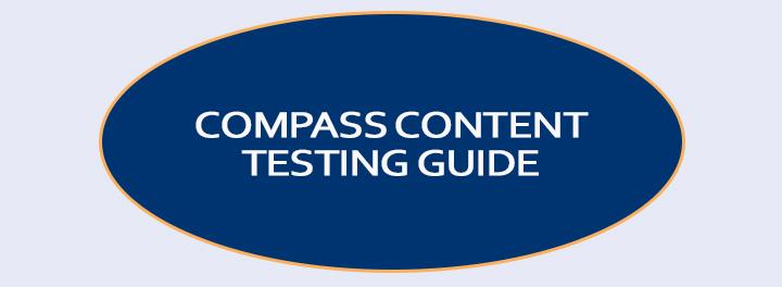 Compass Testing Guide