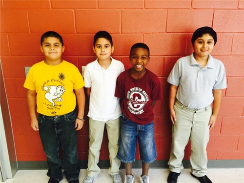 Callejo Students of the Month!