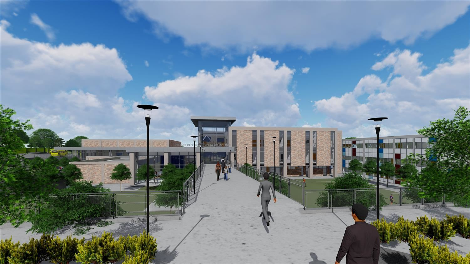 New campus entry