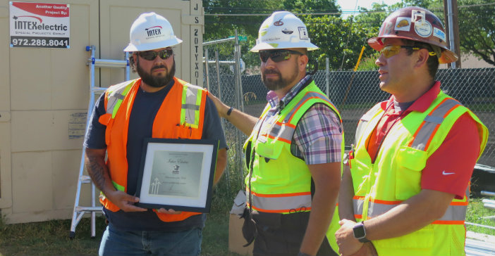 Bond program contractors recognized for jobsite safety