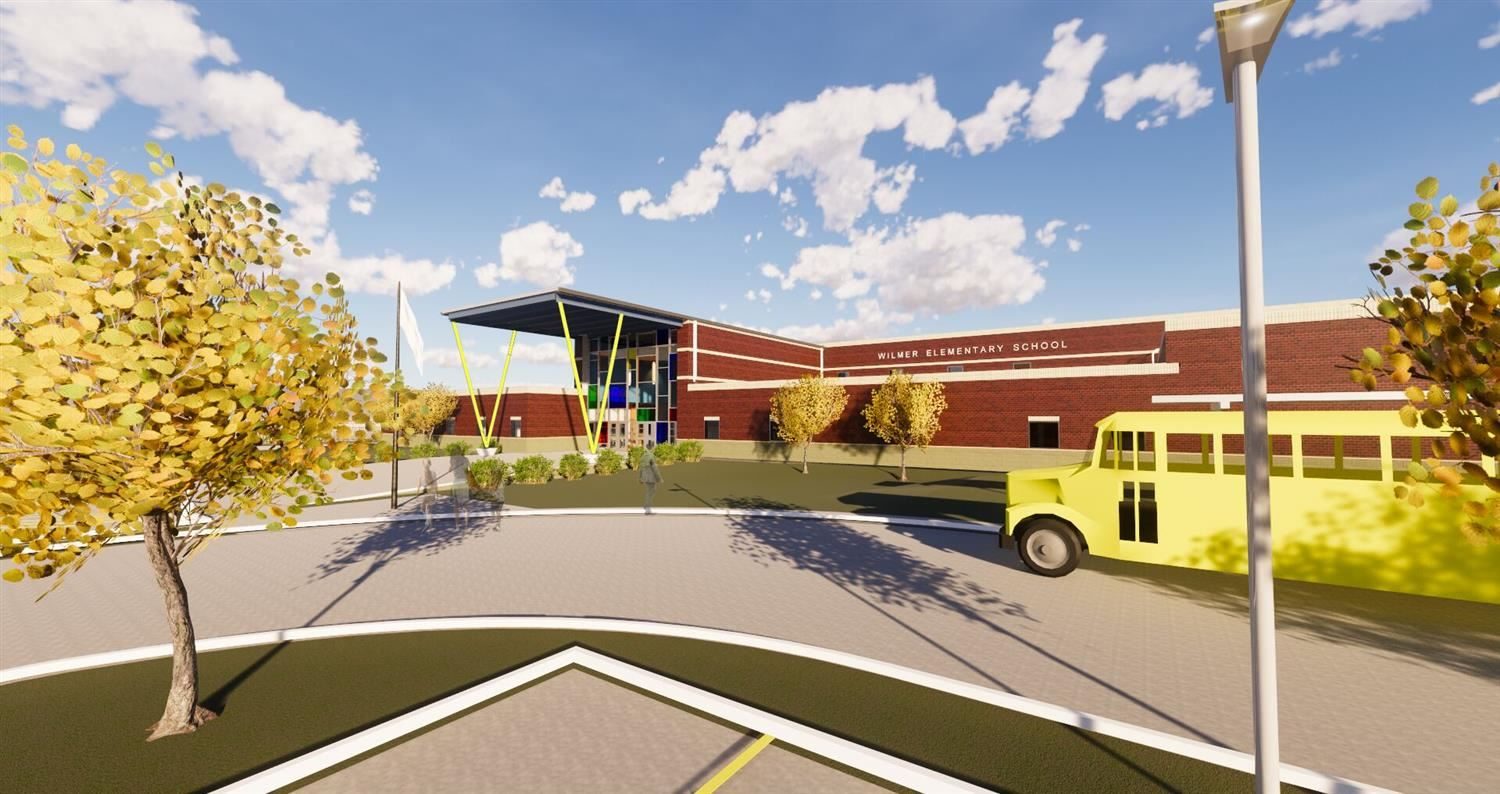 New Wilmer Elementary Construction Update