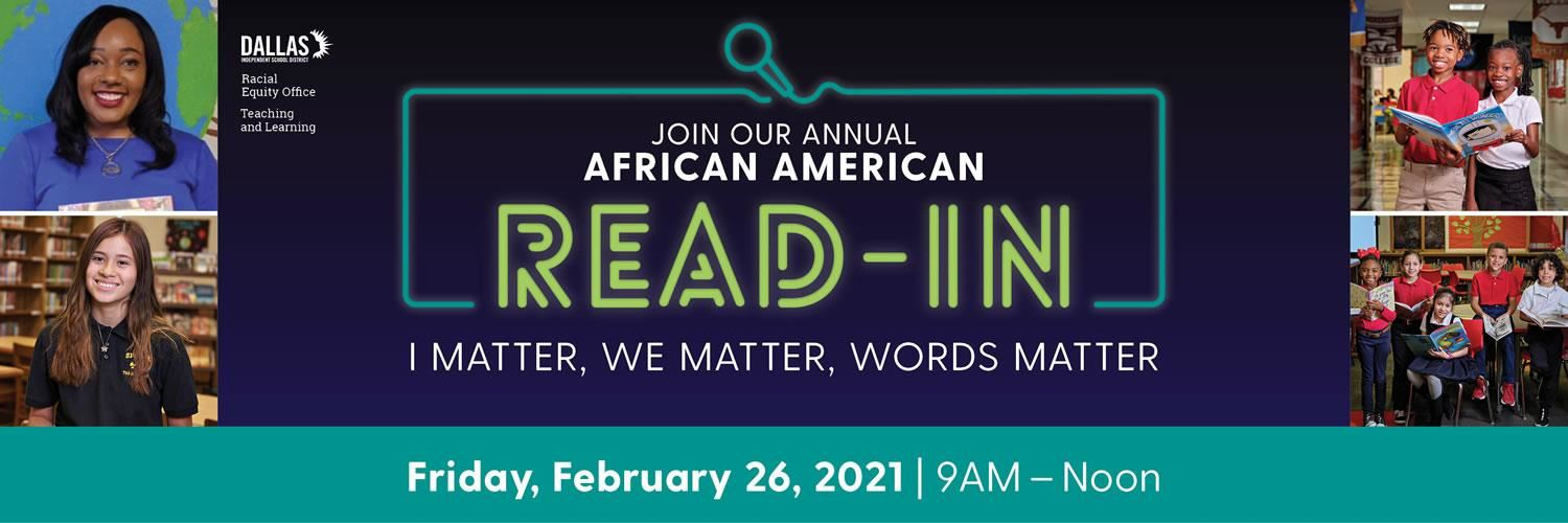 African American Read-In Day
