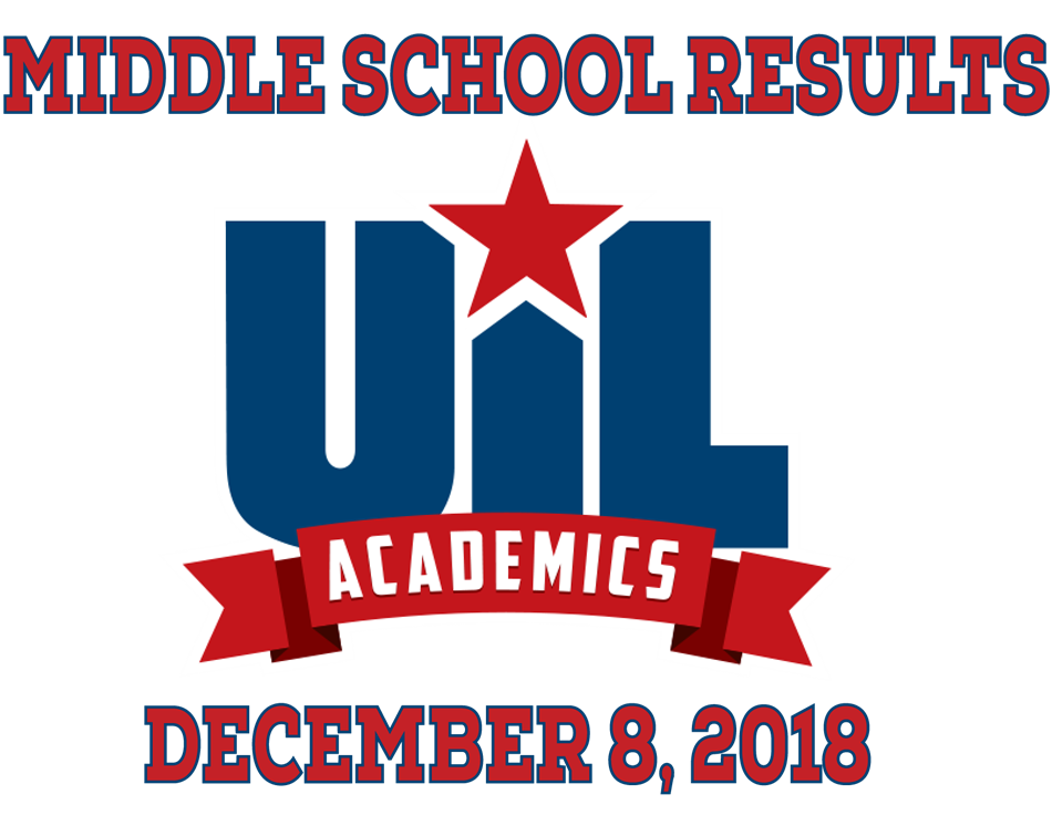 MIDDLE SCHOOL UIL RESULTS