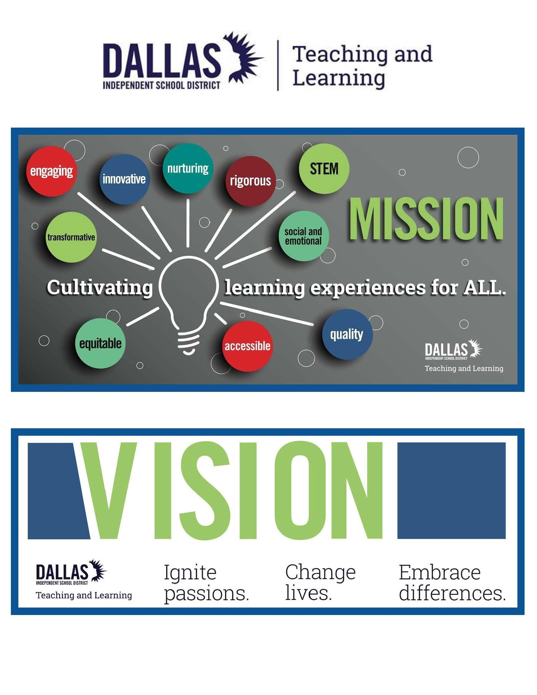 T&L Mission and Vision