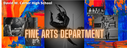 Fine Arts Department Banner