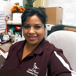 Francisca Martinez, Office Manager, C.P. Russell ES (flexible)