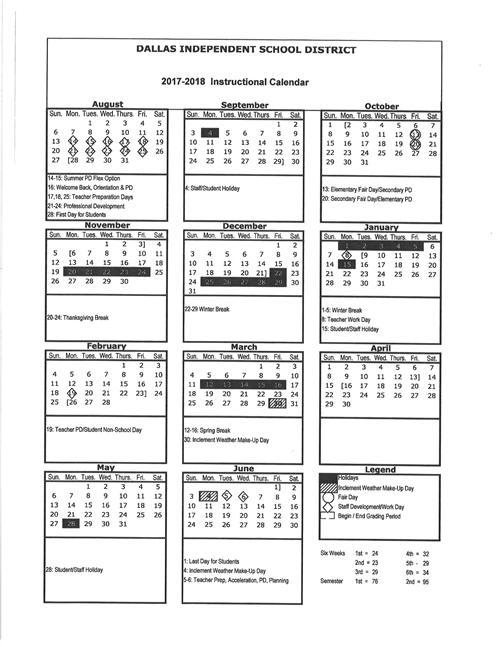 Disd Calendar 2017   Calendar 2017