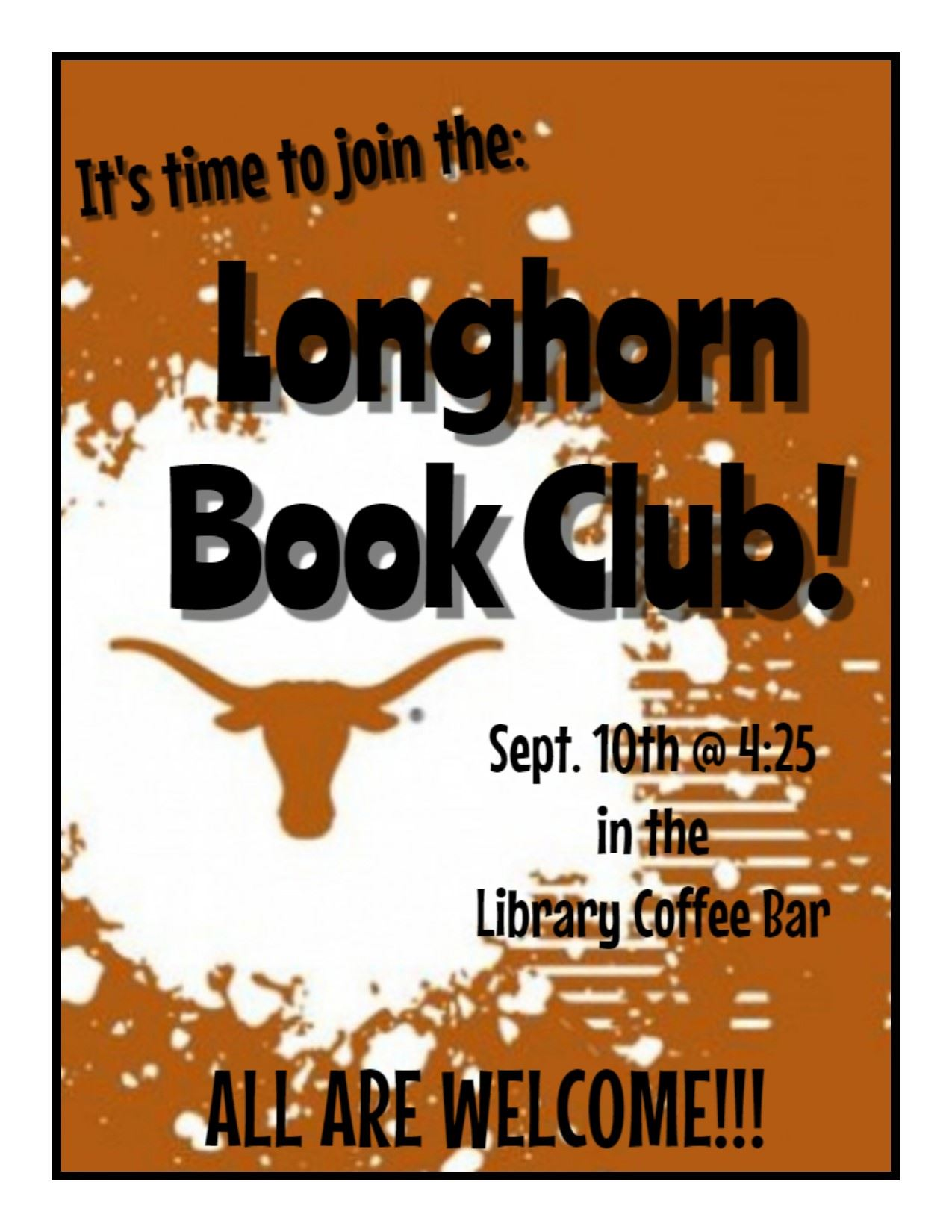 Join the Longhorn Book Club!