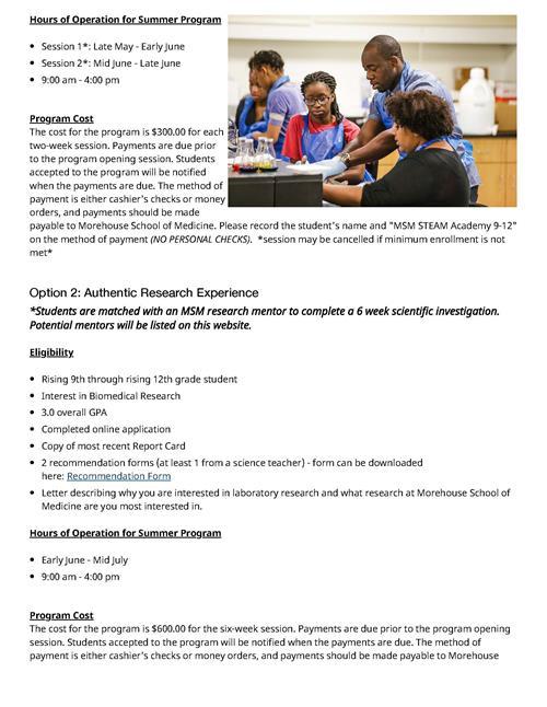 Friends Student Enrichment Grant Info Overview