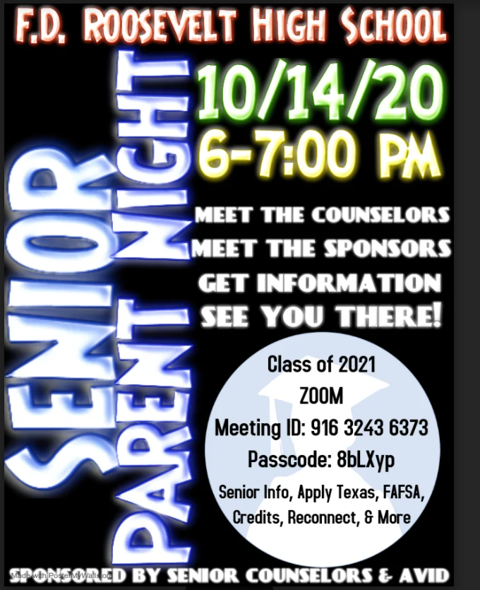 October Parent Counseling Meeting