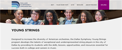 City Of Dallas Careers >> Learn To Play Music 2018 2019 Overview