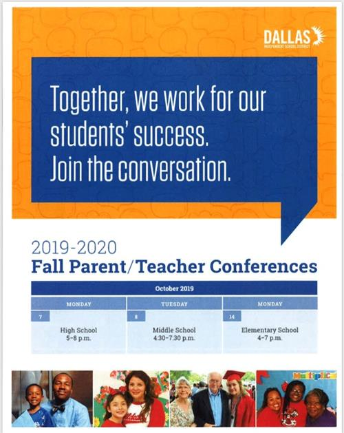 Parent Conference English