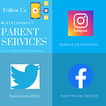 The Parent Services is now on social media!