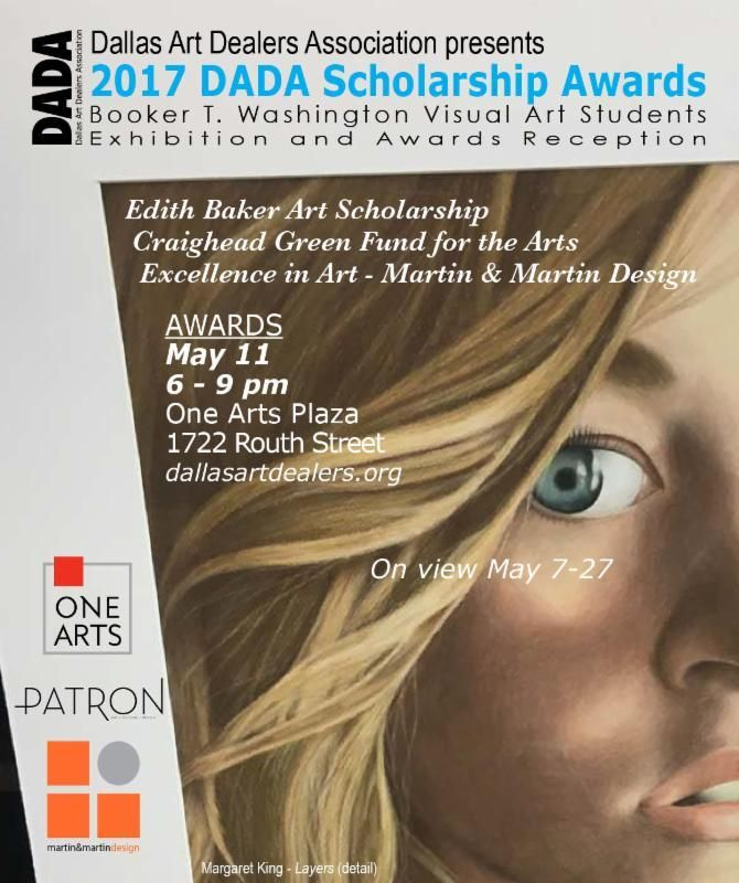 The Dallas Art Dealers Association will honor thirteen Booker T. students!