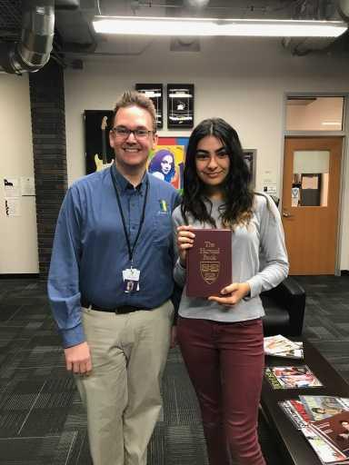 Congratulations to Sophia Jalilvand for Harvard Book Award!