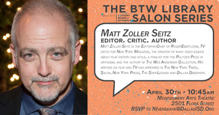 Booker T. Alum, author and movie critic, Matt Zoller Seitz, spoke to Booker T. students last Monday