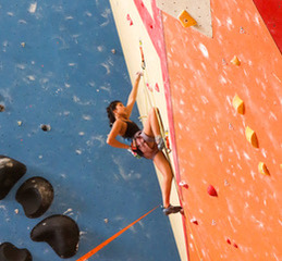 Sophomore Madisen Haggard makes it to Worlds in rock climbing