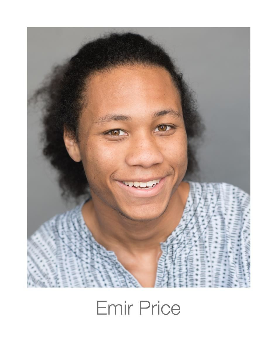 Theatre Student Emir Price is a 2018 Presidential Scholar!