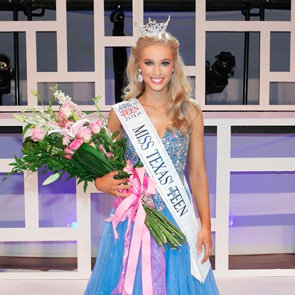 Booker T. student, London Hibbs, is 2019 Miss America's Outstanding Teen
