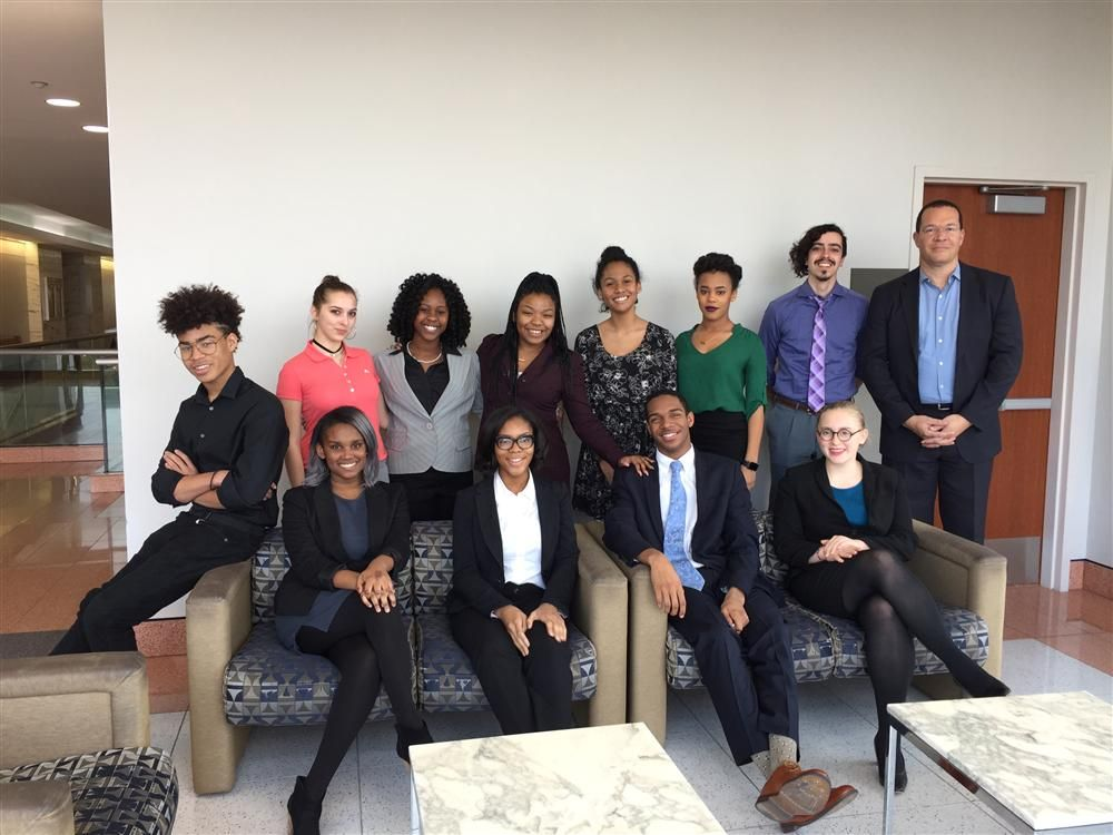 Booker T. Mock Trial Team Picture