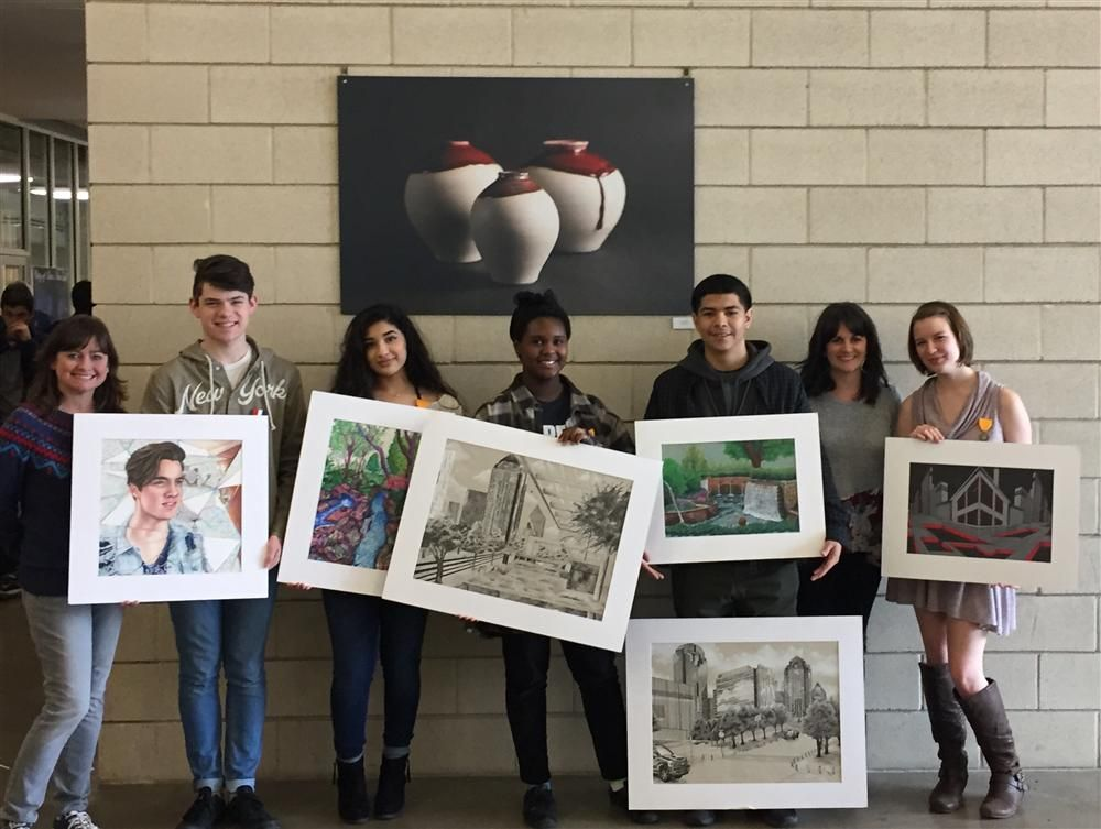 Congratulations To The Winners Of The Vase Regional Art Competition