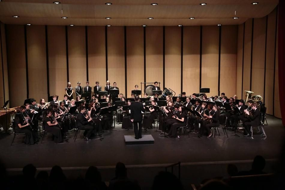 Congratulations to our Wind Ensemble students