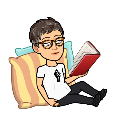 Ms. Touchet's bitmoji reading