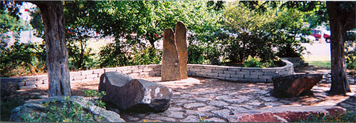 Memorial Garden at Stonewall