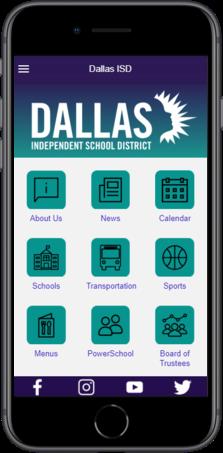 Dallas ISD Mobile App / Dallas ISD Mobile App