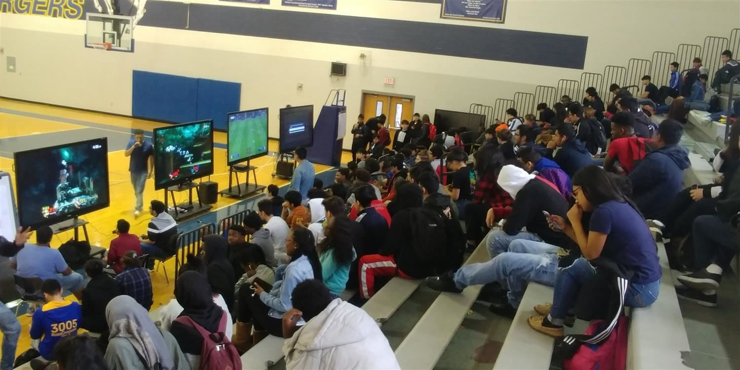 Conrad High School's Academy of Industrial Technology Hosts Gaming Tournament