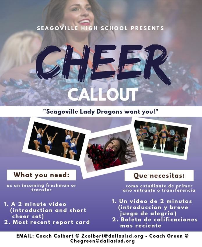 Cheer Call Out!!