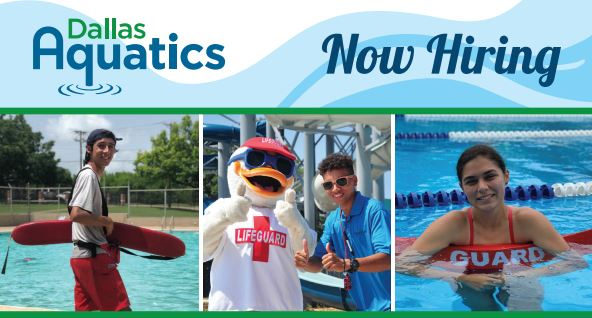 Dallas Aquatics Now Hiring