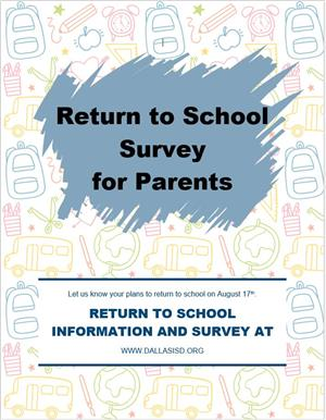 return survey E