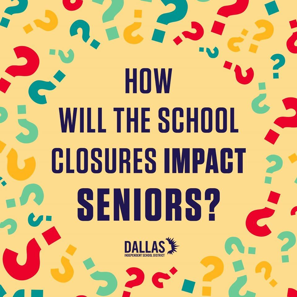 How will the school closures impact seniors?