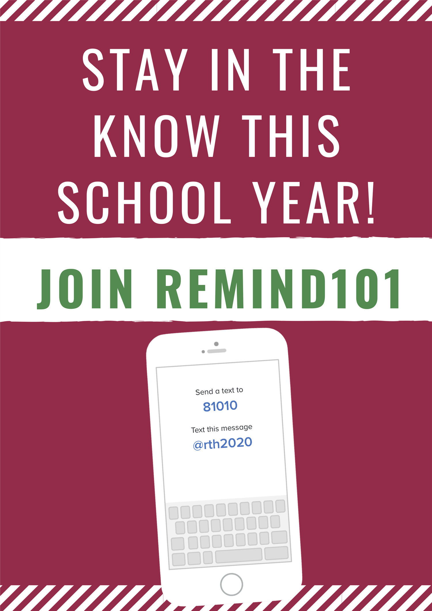 Sign Up for Remind 101