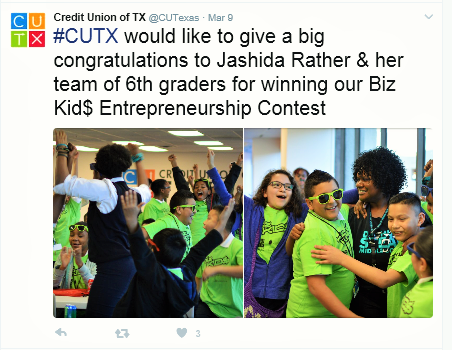 STEAM Students WIN Biz Kids Contest 2017!!! (click here)
