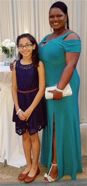 Ms. Jashida Rather & Bianca Escobar-6th Grader